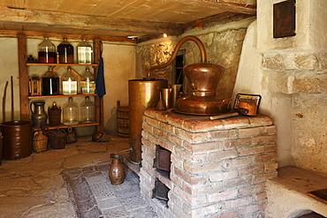 Distillery, Markus Wasmeier Farm and Winter Sports Museum, Schliersee, Upper Bavaria, Bavaria, Germany, Europe