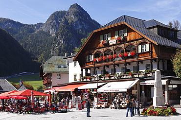 Hotel Schiffmeister in Schoenau on Koenigssee lake, Berchtesgadener Land, Upper Bavaria, Bavaria, Germany, Europe