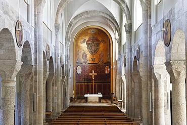Parish church of St. Nikolaus, Nicholas, Bad Reichenhall, Berchtesgadener Land district, Upper Bavaria, Germany, Europe