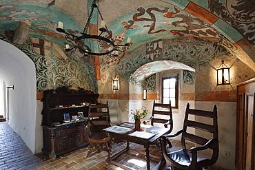 Burg-Hotel Oberranna castle hotel, Muehldorf, Spitzer Graben, Wachau, Waldviertel, Lower Austria, Austria, Europe