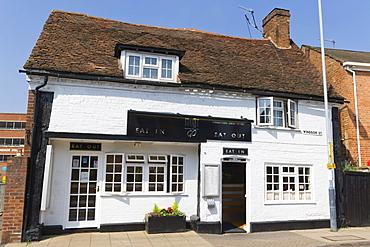 Must Go Chinese Restaurant, Windsor Street, Stratford-upon-Avon, Warwickshire, England, United Kingdom, Europe