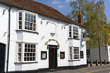 The Queens Head, Ely Street, Stratford-upon-Avon, Warwickshire, England, United Kingdom, Europe