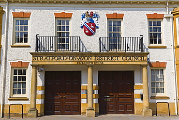 Stratford-upon-Avon District Council, Elizabeth House, Church Street, Stratford-upon-Avon, Warwickshire, England, United Kingdom, Europe