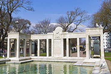 Brighton War Memorial, Old Steine, Brighton, East Sussex, England, United Kingdom, Europe
