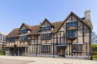 Shakespeare's Birthplace, Henley Street, Stratford-upon-Avon, Warwickshire, England, United Kingdom, Europe