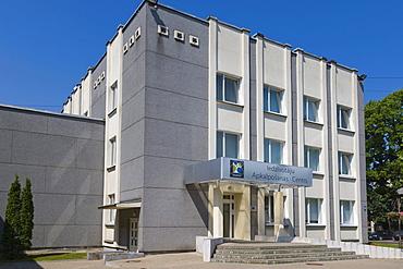 Iedzivotaju Apkalposanas Cents, Rezeknes Pilsetas Dome, Customer Care Centre of City Council, Atbrivosanas Aleja, Atbrivosanas Avenue, Rezekne, Latgale, Latvia, Northern Europe
