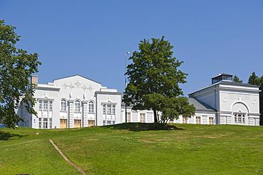 Kulturas Nams, City Culture House, Recreation Centre, Festival Park, Rezekne, Latgale, Latvia, Northern Europe