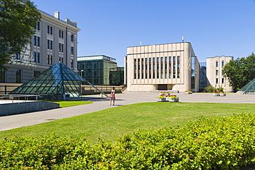 Rigas Kongresu Nams, Riga Congress Centre, Kronvalda Parks, Kronvalds Park, Riga, Latvia, Northern Europe