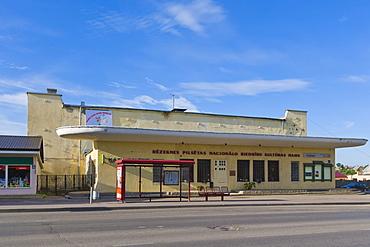 Rezeknes Pilsetas Nacionalo Biedribu Kulturas Nams, The Culture House of Rezekne National Societies, Latgales iela, Latgales Street, Rezekne, Latgale, Latvia, Northern Europe
