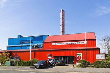 Southampton Geothermal, Pirelli Street, Southampton District Energy Scheme, Southampton, Hampshire, England, United Kingdom, Europe