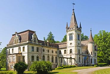 Stamerienas Pils, Stameriena Castle, Stomersee manor, Stamerienas muiza, Stameriena estate, Vecstameriena, Gulbene Municipality, Vidzeme, Latvia, Northern Europe