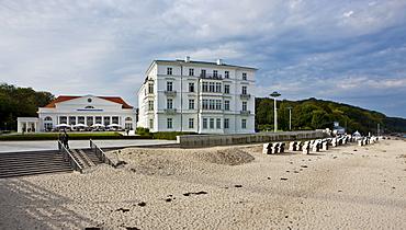 Grand Hotel Heiligendamm, Heiligendamm, Mecklenburg-Western Pomerania, Baltic Sea, Germany, Europe