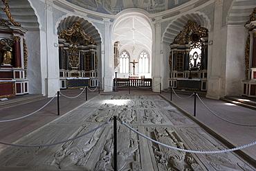 Old chapel in Fortress Marienberg, Wuerzburg, Franconia, Bavaria, Germany, Europe