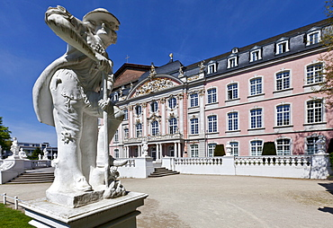Kurfuerstliches Palais electoral palace, Renaissance and Rococo building, 17th century, residence of the Electors of Trier until 1794, Trier, Rhineland-Palatinate, Germany, Europe