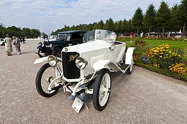 Benz Model 8/20, built in 1918, Germany, Classic-Gala, Concours d'Elegance in the Baroque castle gardens, Schwetzingen, Baden-Wuerttemberg, Germany, Europe