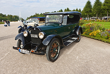 Buick Model 35, built in 1923, Classic-Gala, Concours d'Elegance in the Baroque castle gardens, Schwetzingen, Baden-Wuerttemberg, Germany, Europe