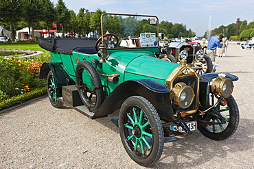 Loreley Tourer L48 6 19hp, built in 1913, Germany, Classic-Gala, Concours d'Elegance in the Baroque castle gardens, Schwetzingen, Baden-Wuerttemberg, Germany, Europe