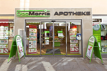 DocMorris branch store, store of an internet pharmacy, Germany
