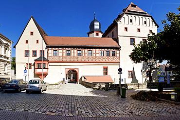 Kaiserpfalz Museum, Burg Forchheim castle, also known as Kaiserpfalz castle, Forchheim, Upper Franconia, Bavaria, Germany, Europe