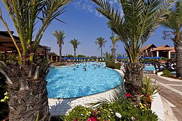 Water aerobics in the swimming pool, Club Aldiana, Southern Cyprus, Cyprus, Europe
