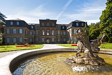 Schloss Fantaisie Palace and palace gardens, Bayreuth, Upper Franconia, Bavaria, Germany, Europe