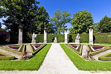 Schloss Fantaisie palace gardens, Bayreuth, Upper Franconia, Bavaria, Germany, Europe