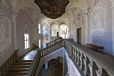 Residenz Ellingen residence, Weissenburg-Gunzenhausen district, Middle Franconia, Franconia, Bavaria, Germany, Europe