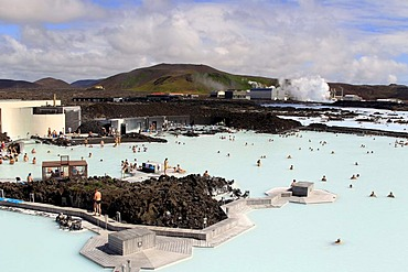 Blue Lagoon geothermal spa, Iceland, Europe