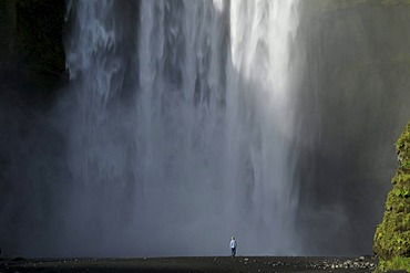 Skogafoss Waterfall, Iceland, Europe