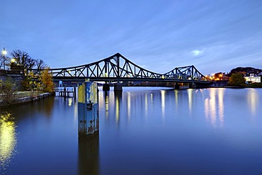 Glienicker Bruecke bridge, Potsdam, Brandenburg, Germany, Europe