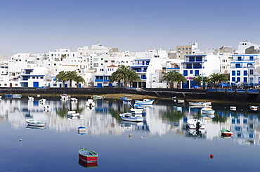 Port of Charco de San Gines, Arrecife, Lanzarote, Canary Islands, Spain, Europe