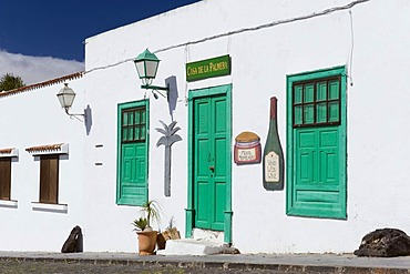 Store in a Canarian house, Teguise, Lanzarote, Canary Islands, Spain, Europe