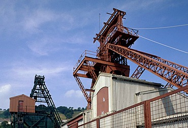 Rhondda Heritage Park, a former coal mine, Wales, United Kingdom, Europe