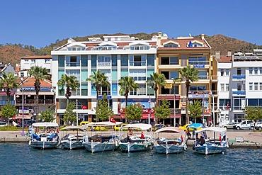 Port, Marmaris, Turkish Aegean, Turkey, Asia