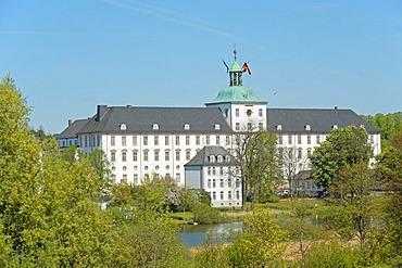 Schloss Gottorp Castle in Schleswig on the Schlei Inlet, Schleswig-Holstein, Germany, Europe