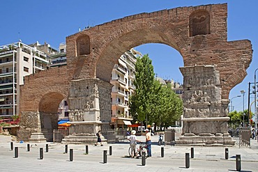 Arch of Galerius, Thessaloniki, Central Macedonia, Greece, Europe