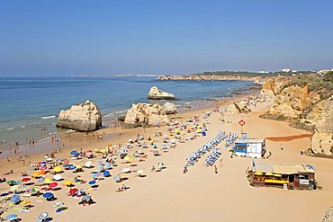 Beach at Praia da Rocha, Algarve, Portugal, Europe