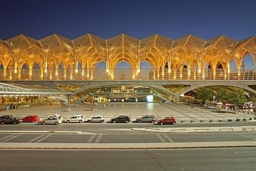 Gare do Oriente, Oriente Railway Station, Lisbon, Portugal, Europe