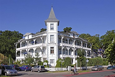 Resort architecture, Binz, Ruegen Island, Mecklenburg-Western Pomerania, Germany, Europe