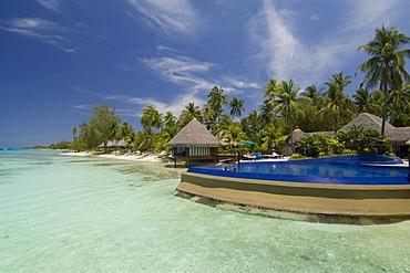 Kia Ora Resort, Rangiroa, Tuamotu Archipelago, French Polynesia, Pacific Ocean