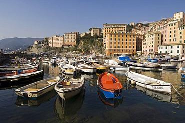 Harbour, Camogli, Liguria, Italy, Europe