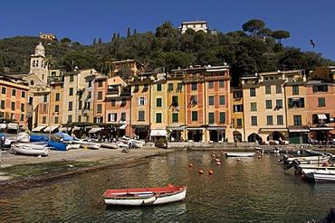 Harbour, Portofino, Liguria, Italy, Europe