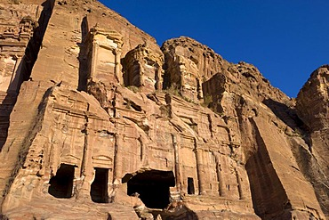Corinthian Tomb, Petra, Jordan, Middle East