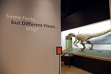 The Creation Museum, which presents the fundamentalist Christian view, based on the book of Genesis, that God created the earth 6, 000 years ago, denying evolution, Petersburg, Kentucky, USA
