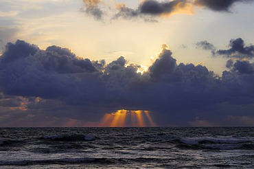 Sunset, Mediterranean Sea, Paphos, Cyprus