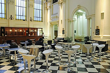 Cafe, National Library, Santiago de Chile, Chile, South America
