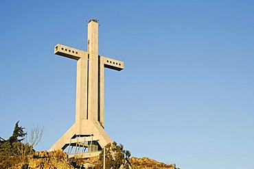 Walkable cross, Cruz Milenio, Coquimbo, La Serena, Norte Chico, northern Chile, Chile, South America