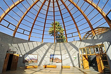 Plaza Gabriela Mistral, Museo Domo museum, cultural center, glass dome, Coquimbo, La Serena, Norte Chico, northern Chile, Chile, South America
