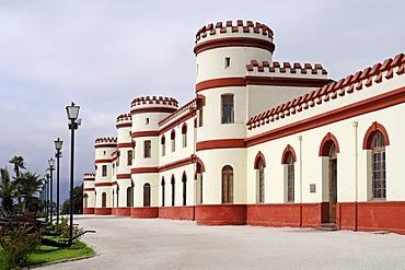 Military barracks, military, regiment, Park, Santa Lucia, La Serena, Norte Chico, northern Chile, Chile, South America