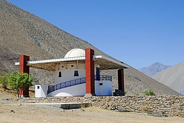 Mamalluca observatory, Vicuna, Valle d'Elqui, Elqui valley, La Serena, Norte Chico, northern Chile, Chile, South America